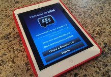 BBM for iPad