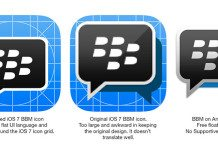 BBM Icon for iOS 7
