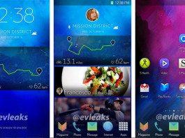 Samsung Smartphone UI