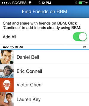 BBM Update iOS Android