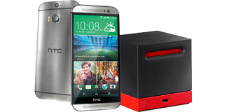 HTC One and Boombass