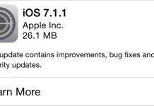 iOS Update 7.1.1