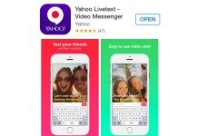 Yahoo Livetext Video Messenger App