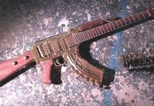 AK-47 Electric Guitar
