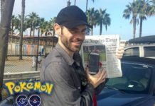 Chris McBride Pokemon GO