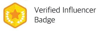 Parler verified influencer badge