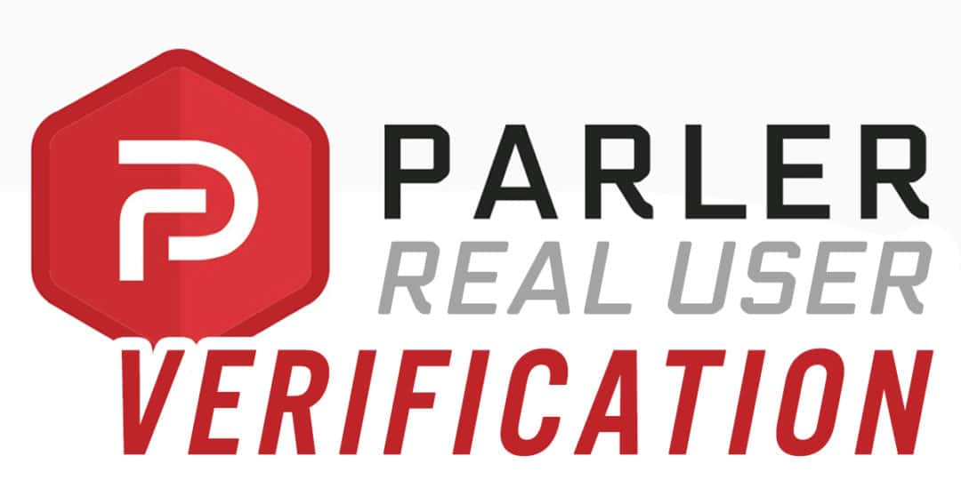 Parler real user verification