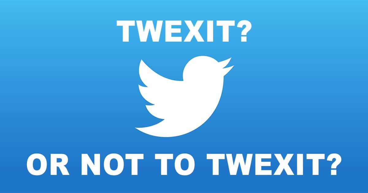 Twexit Twitter
