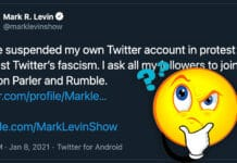 Mark Levin Suspends Twitter Account