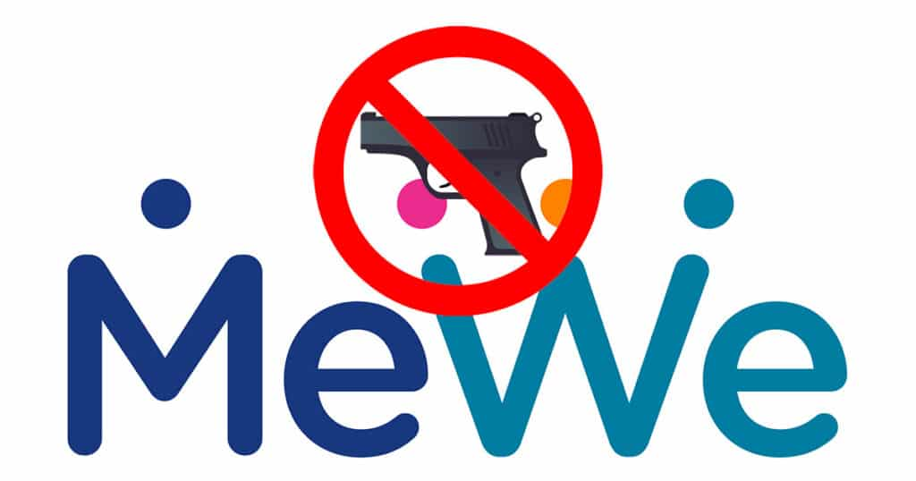 MeWe gun emoji